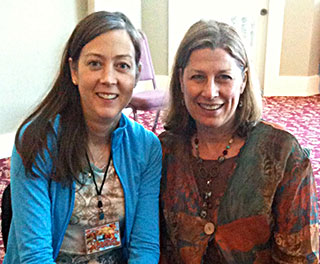 Heather with International PSYCH-K Instructor and Facilitator, Robin Graham